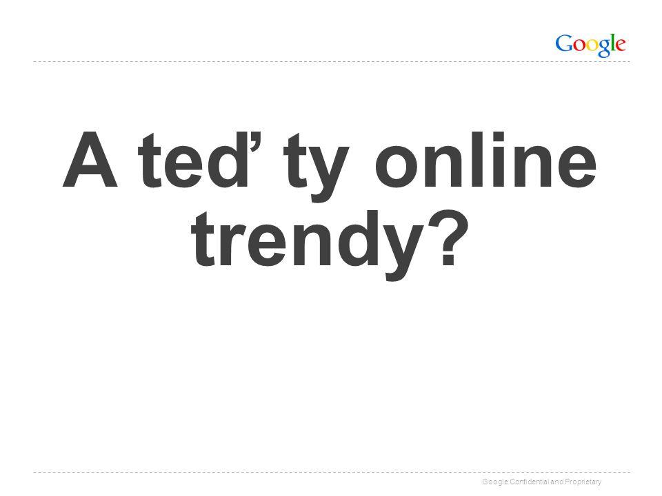 A teď ty online trendy