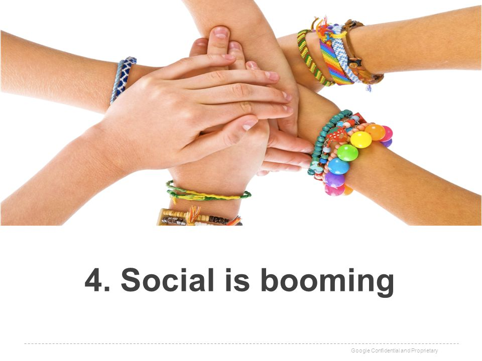 4. Social is booming