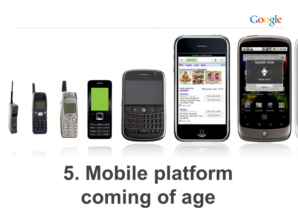 5. Mobile platform coming of age