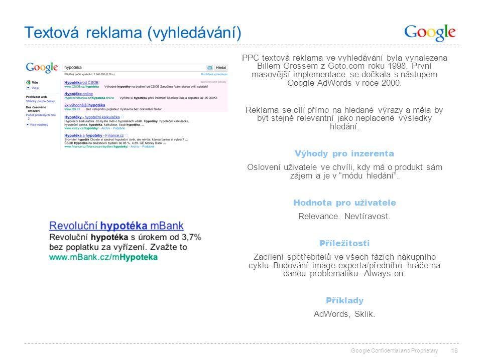 Textová reklama (vyhledávání)