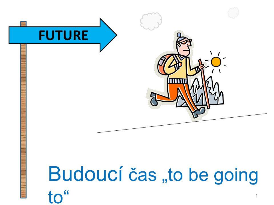 """Budoucí čas """"to be going to"""