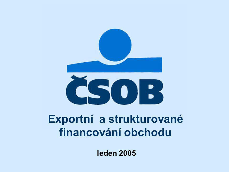 Exportní a strukturované financování obchodu
