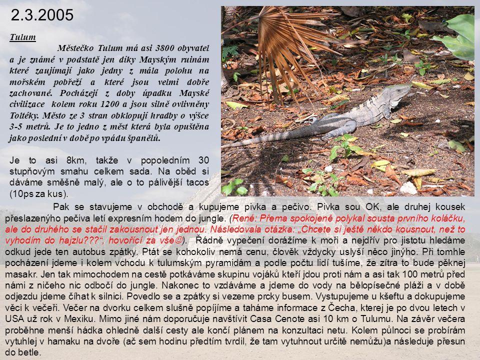 2.3.2005 Tulum.