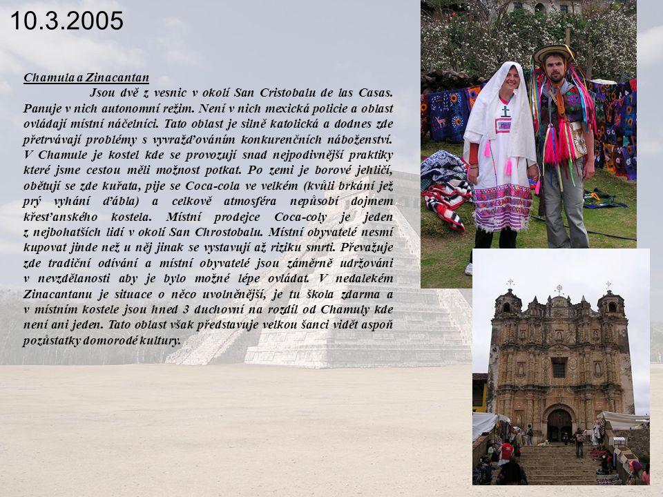 10.3.2005 Chamula a Zinacantan.