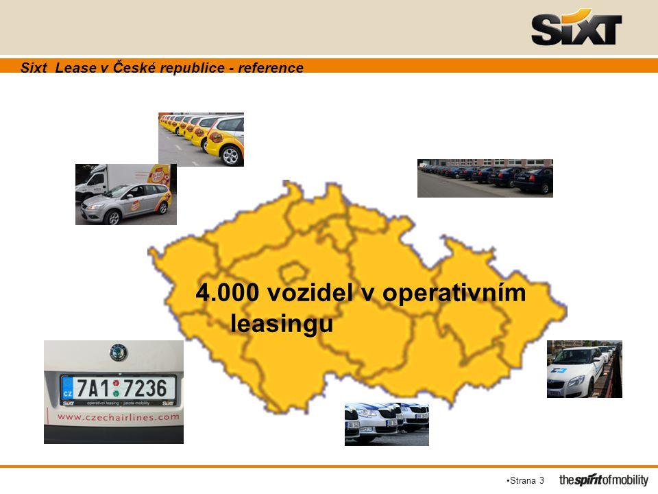 Sixt Lease v České republice - reference