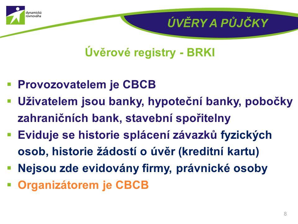 Úvěrové registry - BRKI