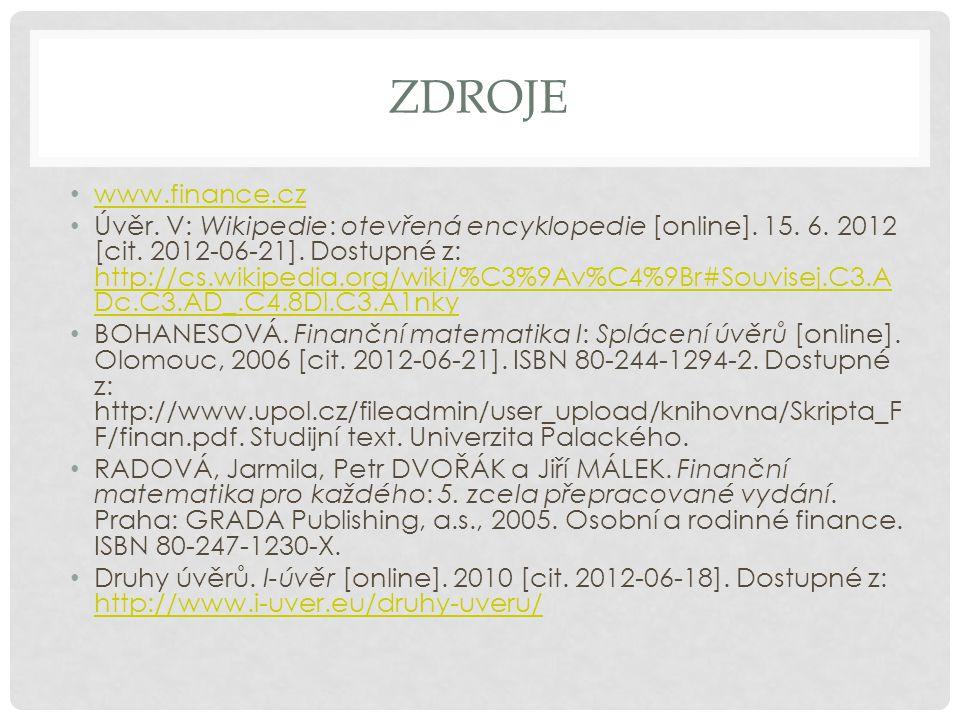 zdroje www.finance.cz.