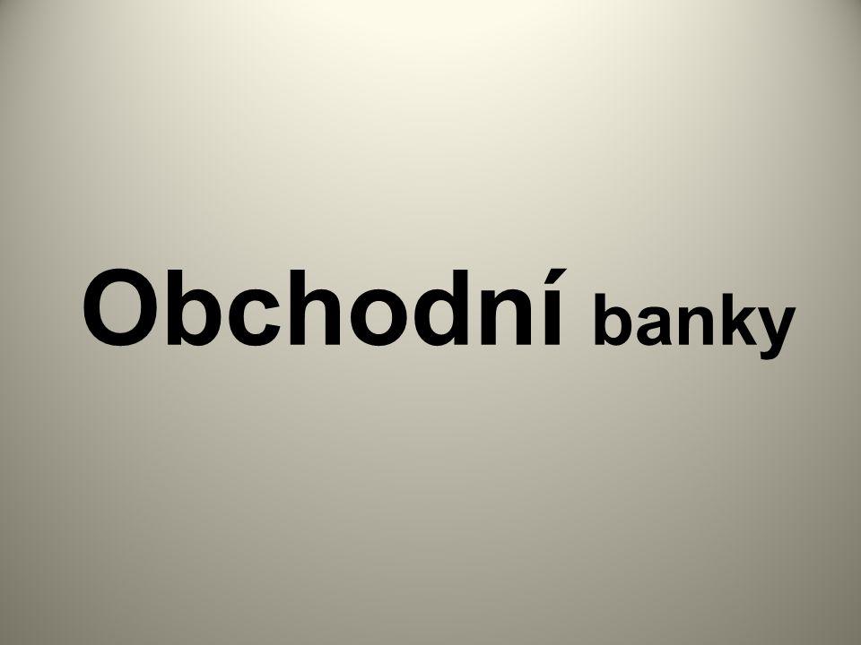 Obchodní banky
