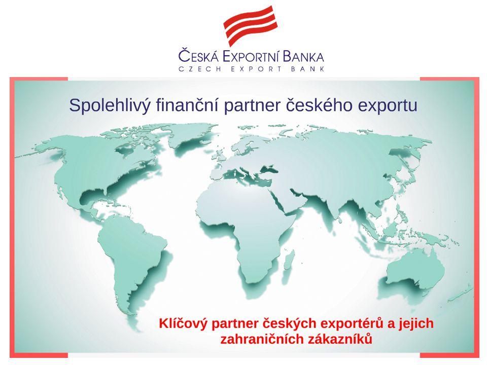 Spolehlivý finanční partner exportu