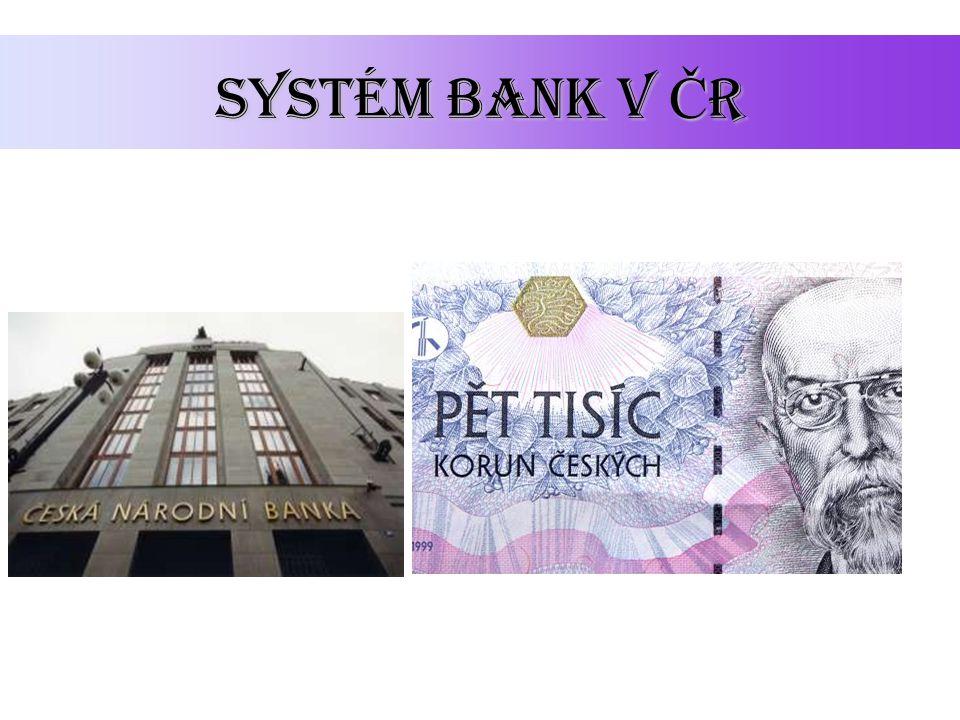 Systém bank v ČR