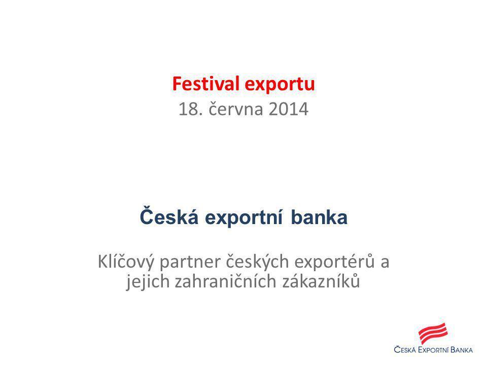 Festival exportu 18. června 2014