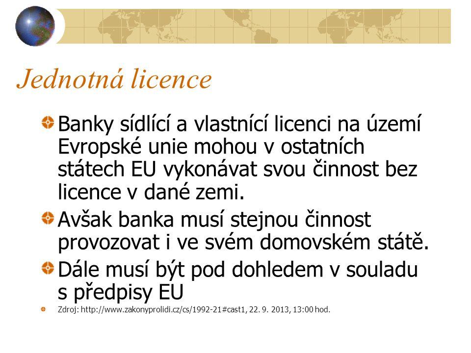 Jednotná licence