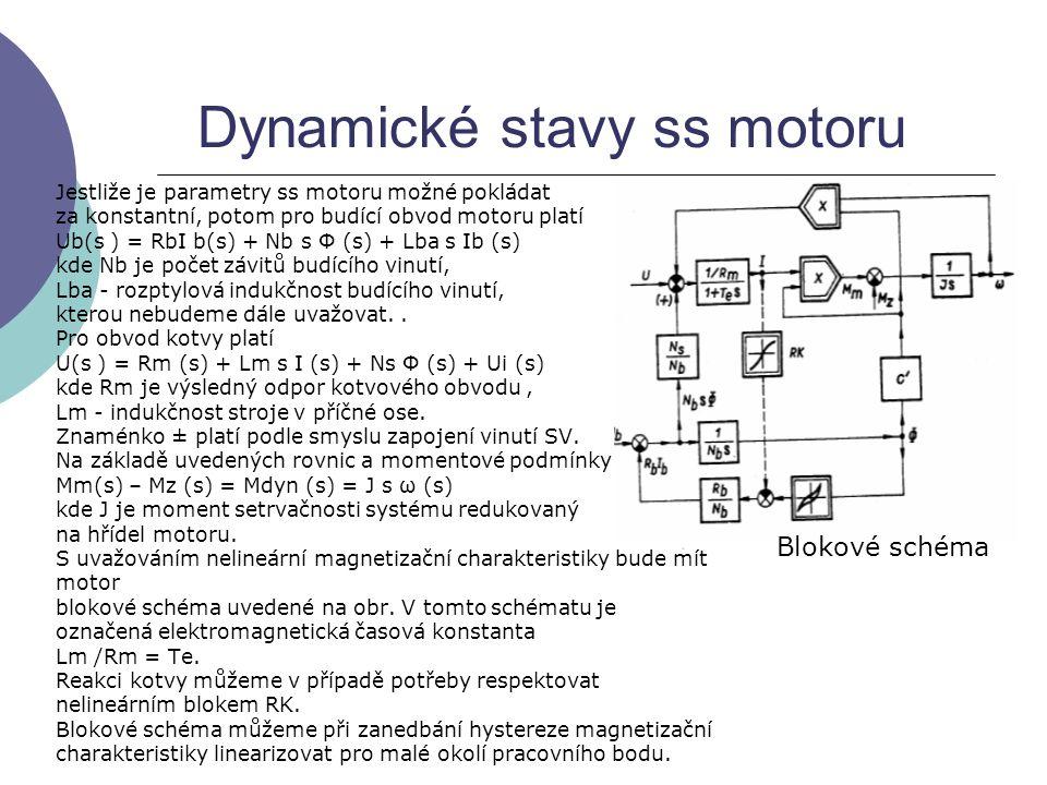 Dynamické stavy ss motoru