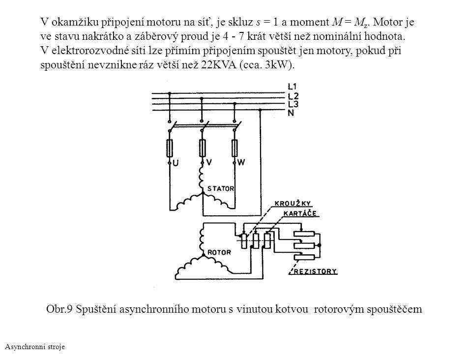 spouštění nevznikne ráz větší než 22KVA (cca. 3kW).