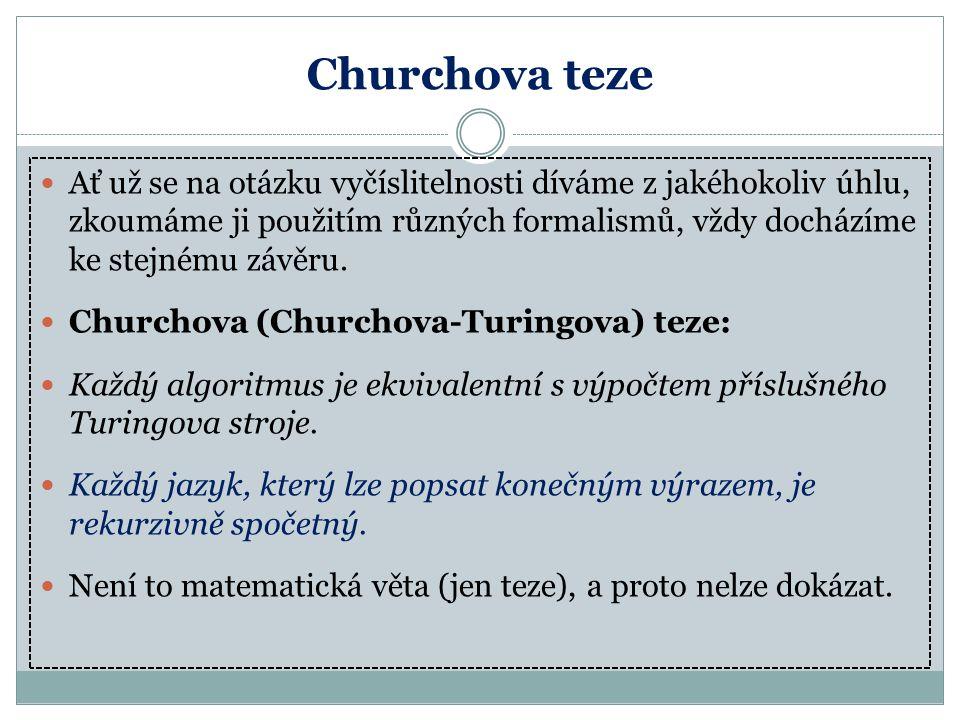 Churchova teze