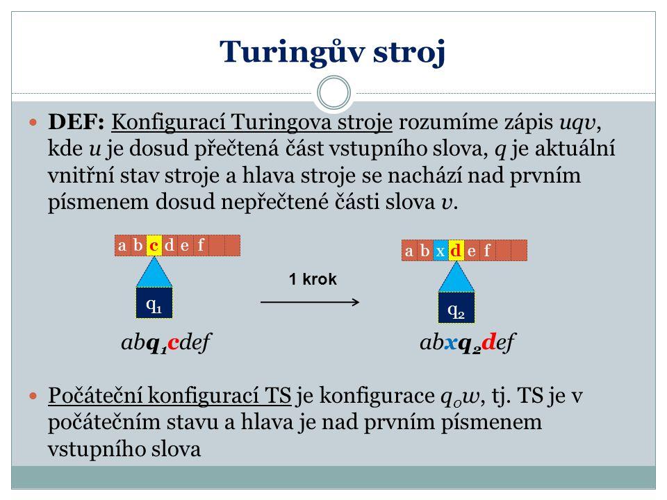 Turingův stroj