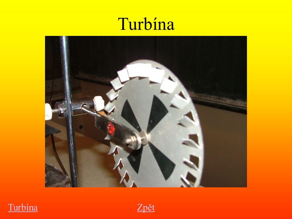 Turbína Turbína Zpět