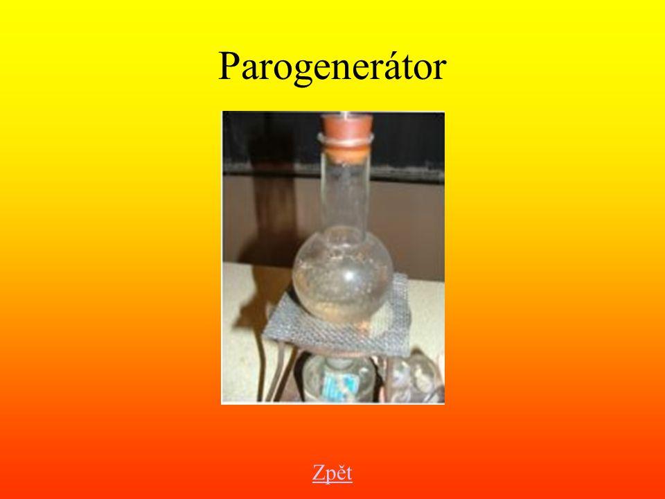 Parogenerátor Zpět