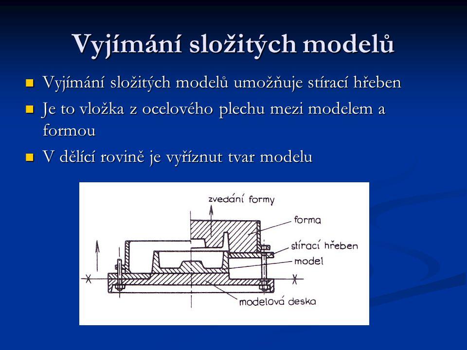 Vyjímání složitých modelů