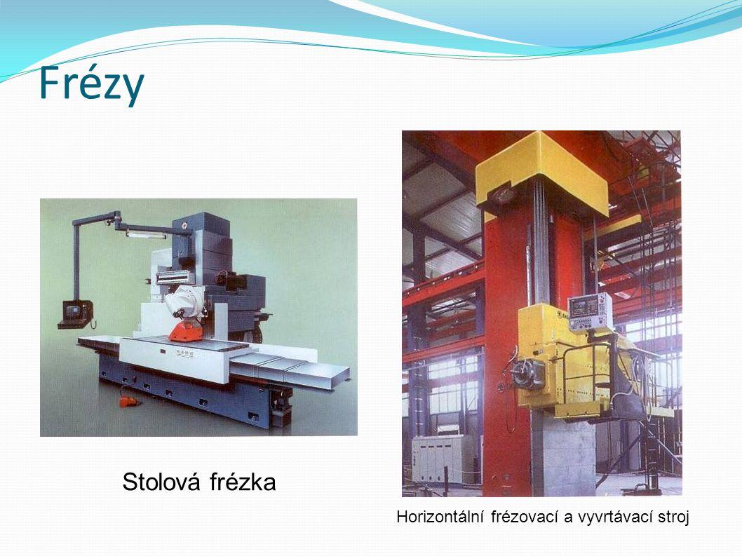 Horizontální frézovací a vyvrtávací stroj