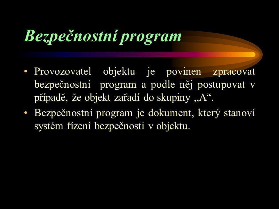 Bezpečnostní program