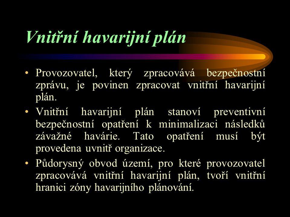 Vnitřní havarijní plán