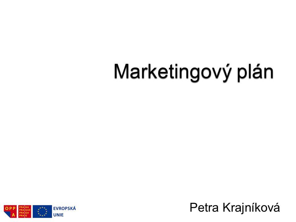 Marketingový plán Petra Krajníková