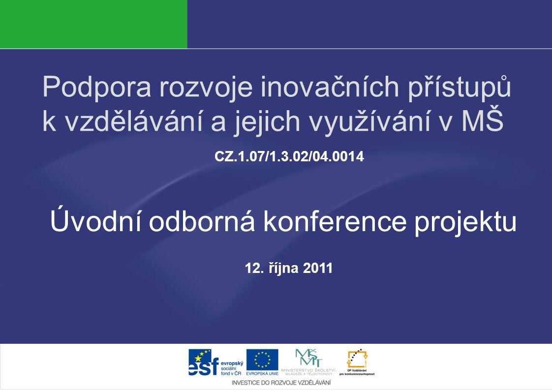 Úvodní odborná konference projektu