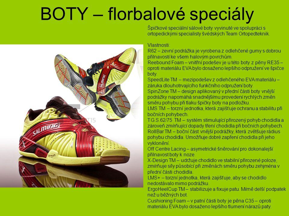 BOTY – florbalové speciály
