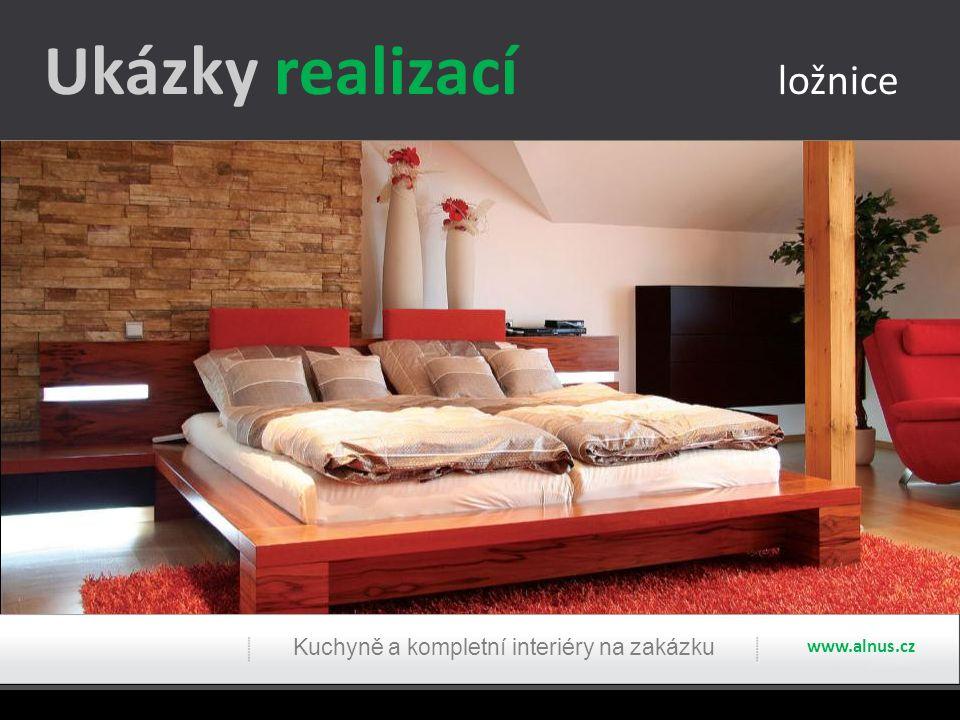 Ukázky realizací ložnice