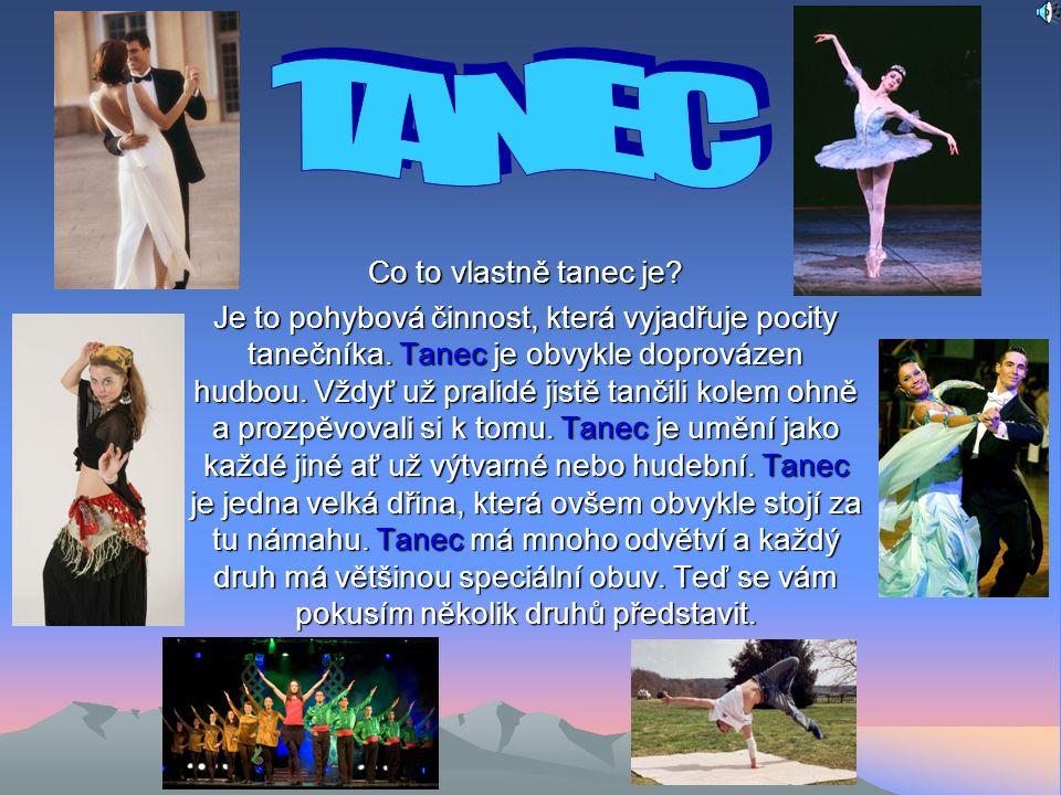 TANEC Co to vlastně tanec je