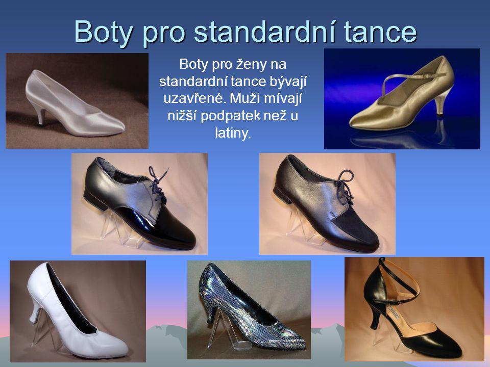 Boty pro standardní tance