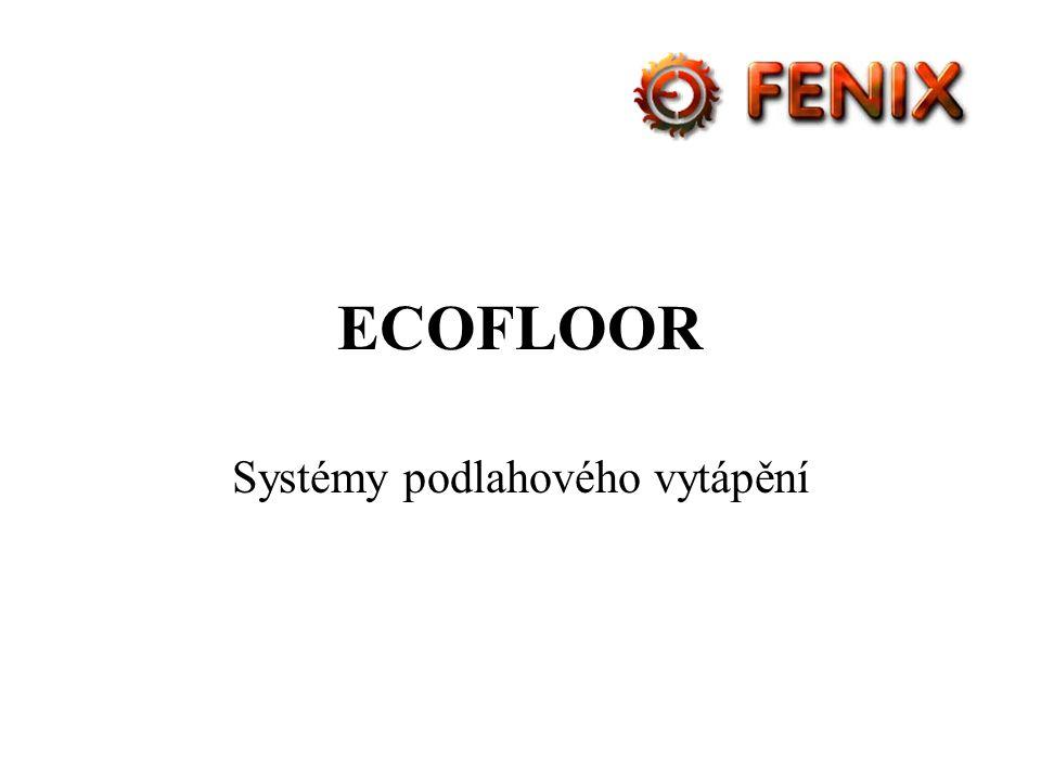 Systémy podlahového vytápění