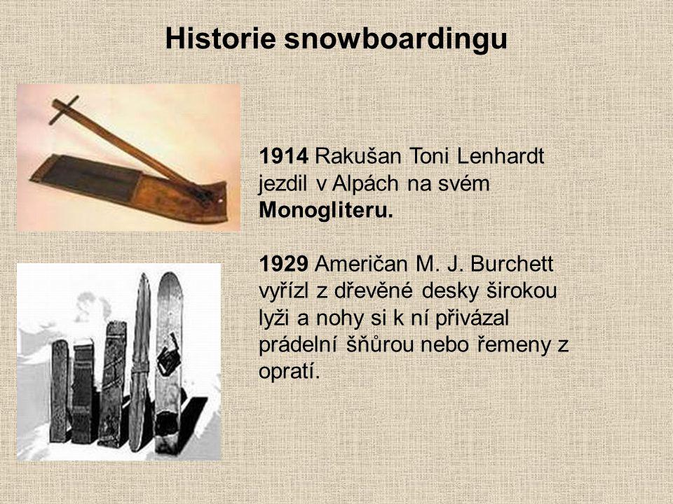 Historie snowboardingu