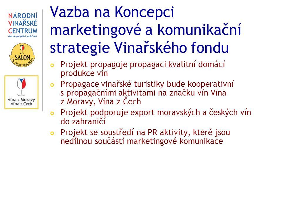 Vazba na Koncepci marketingové a komunikační strategie Vinařského fondu