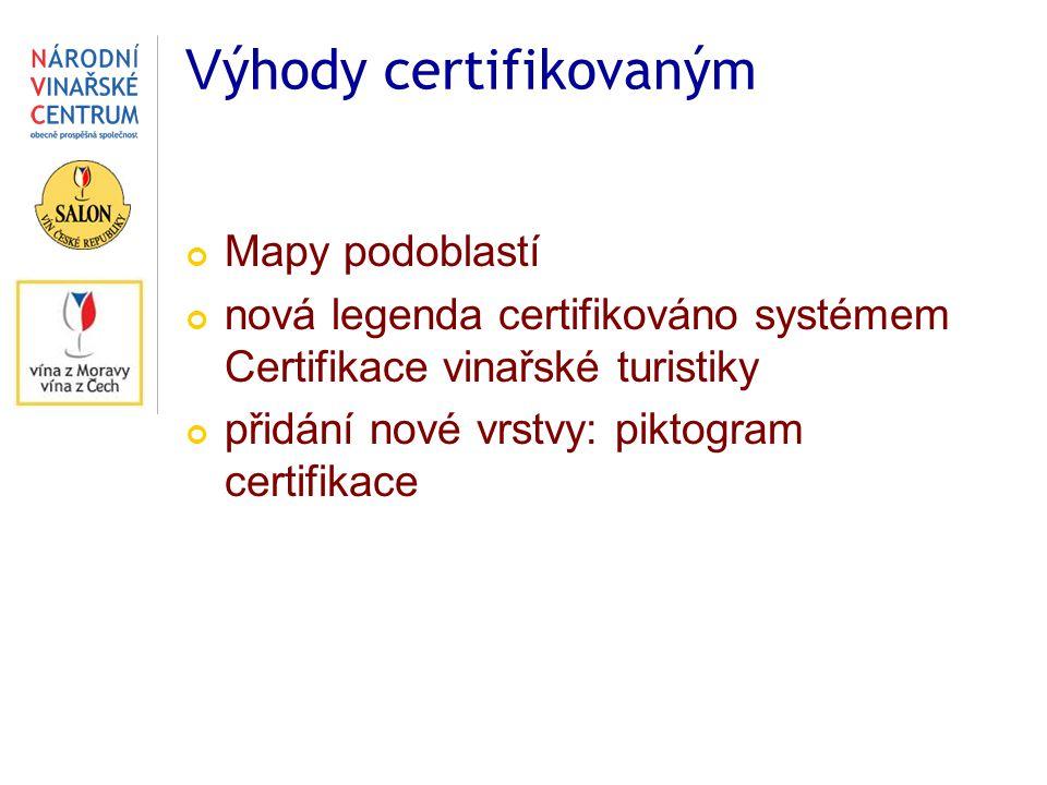 Výhody certifikovaným