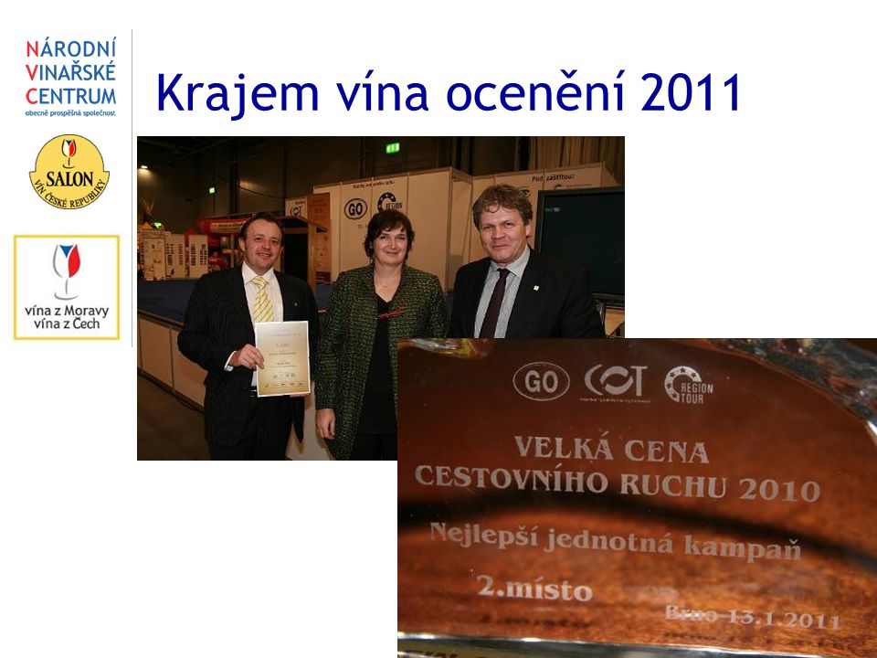 Krajem vína ocenění 2011