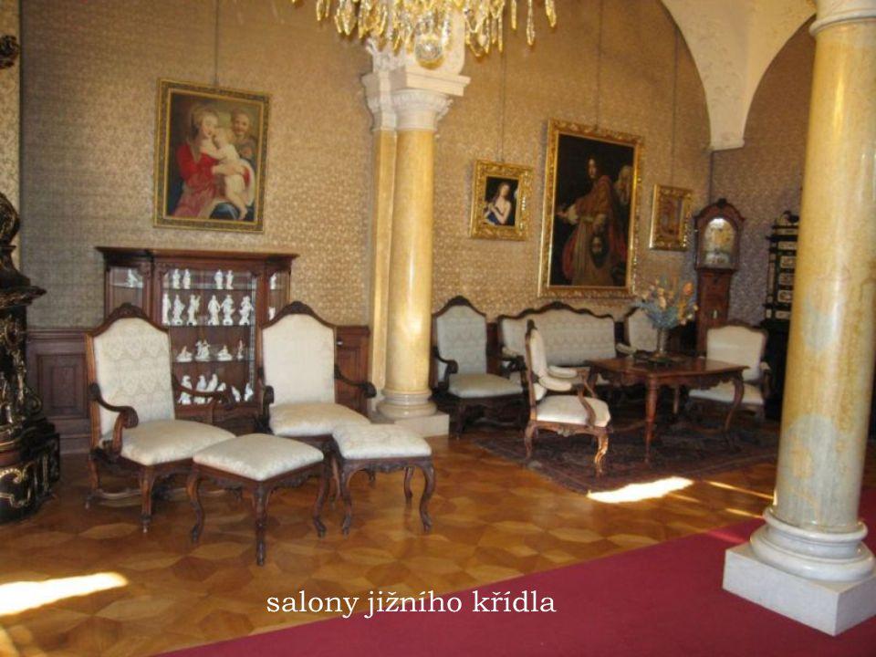 salony jižního křídla salony jizniho kridla zamku