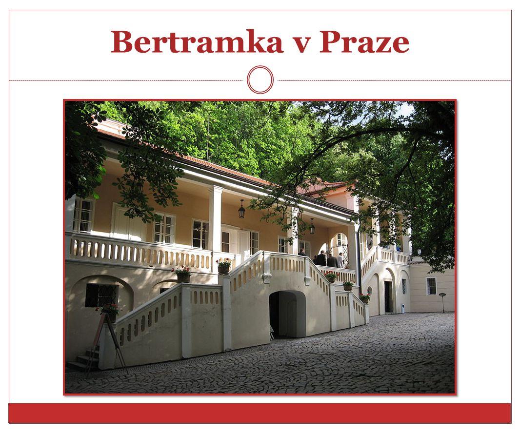 Bertramka v Praze http://cs.wikipedia.org/wiki/Soubor:Bertramka_vila.jpg