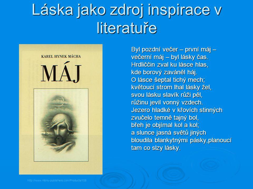 Láska jako zdroj inspirace v literatuře