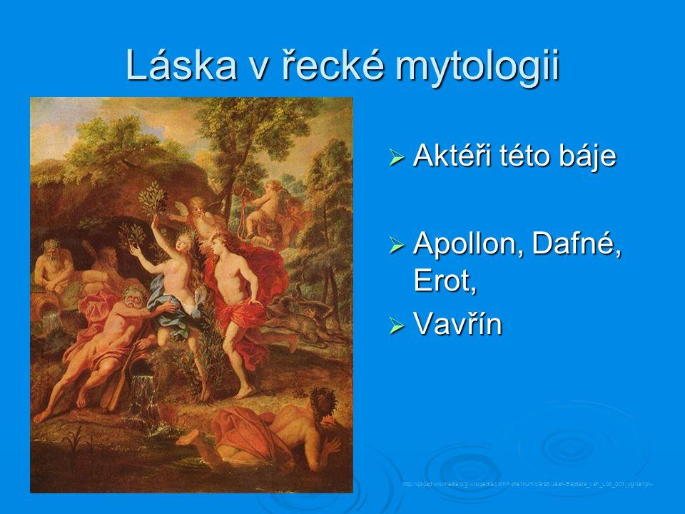 Láska v řecké mytologii