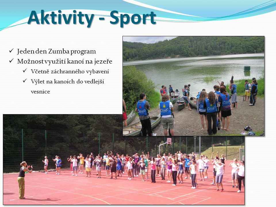 Aktivity - Sport Jeden den Zumba program