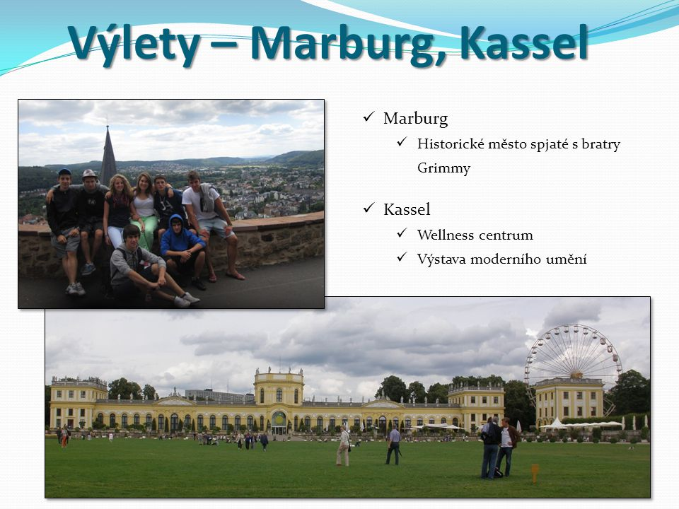 Výlety – Marburg, Kassel