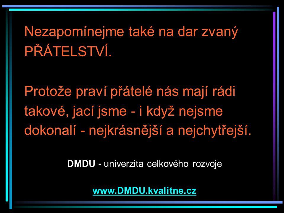 DMDU - univerzita celkového rozvoje