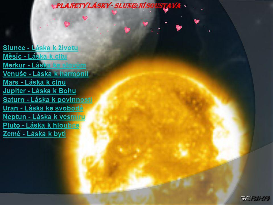 Planety lásky - Sluneční soustava
