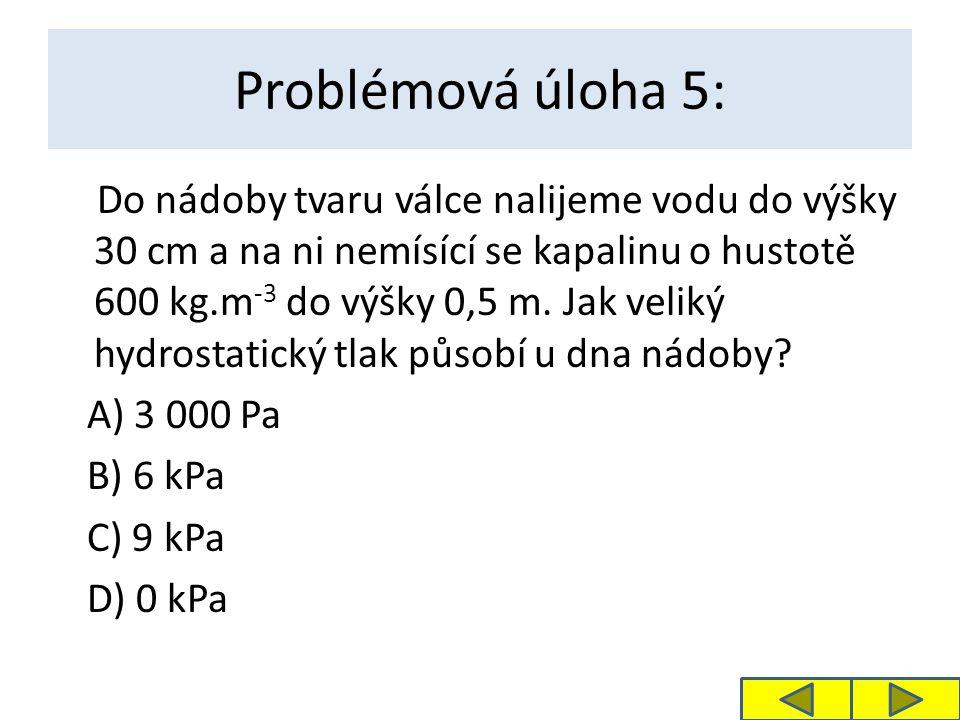 Problémová úloha 5: