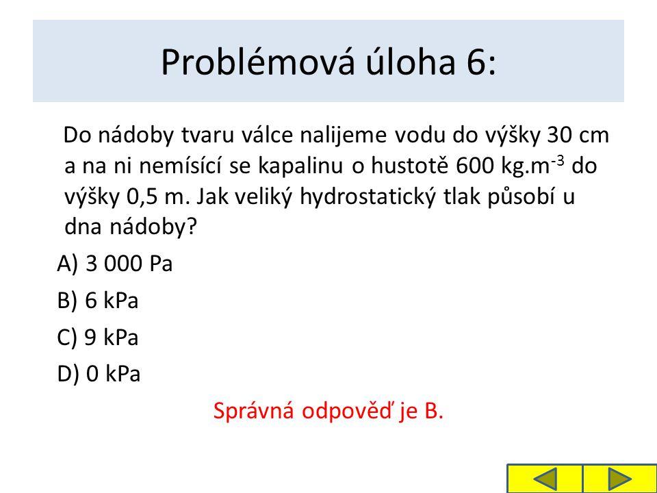 Problémová úloha 6: