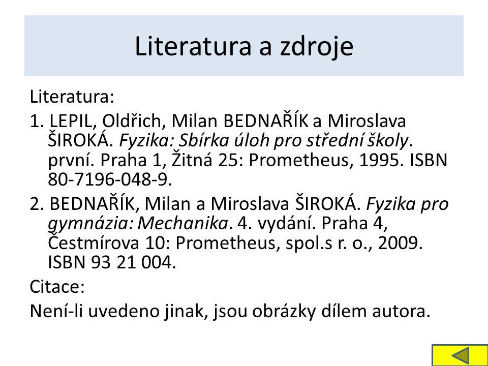 Literatura a zdroje