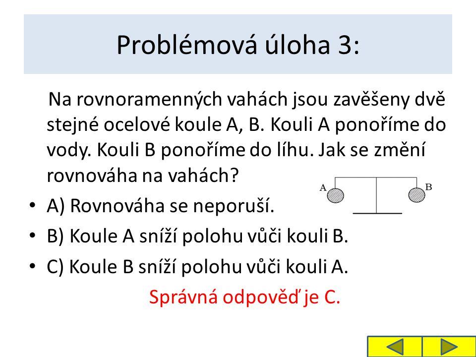 Problémová úloha 3: