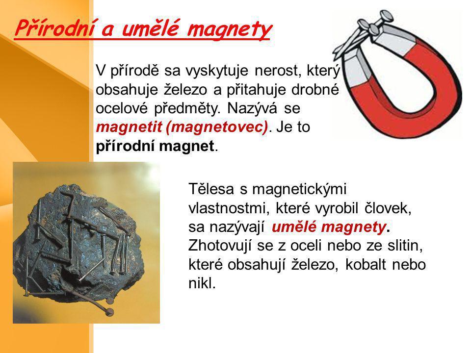 Přírodní a umělé magnety